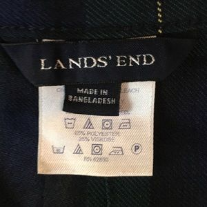 Lands' End Skirts - Lands' End School Uniform Plaid A-Line Skirt